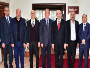Halkbank Genel Müdürü ESOB'u ziyaret etti