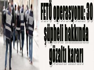 Hava Kuvvetleri'nde FETÖ operasyonu: 30 şüpheli hakkında gözaltı kararı