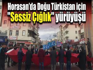 Horasan'da Doğu Türkistan için