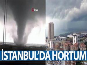 İstanbul'da hortum!