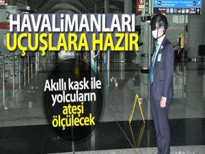 İstanbul Havalimanı'nda uçuşlar için tüm önlemler alındı