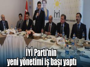İYİ Parti'nin yeni yönetimi iş başı yaptı