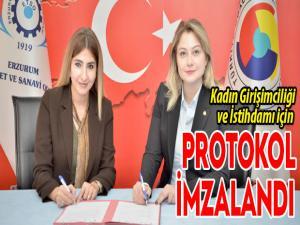 Kadın Girişimciliği ve İstihdamı için protokol imzalandı