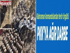 Kahraman komandolardan terör örgütü PKK'ya ağır darbe