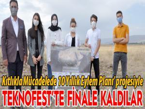 Kıtlıkla Mücadelede 10 Yıllık Eylem Planı' projesiyle Teknofest'te finale kaldılar
