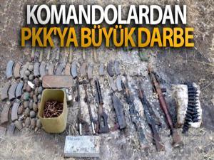 Komandolardan PKK'ya büyük darbe