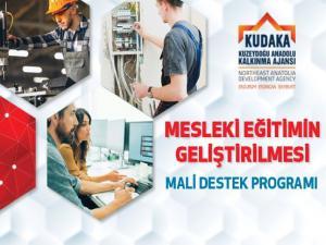 KUDAKA Mesleki Eğitimin Geliştirilmesi Mali Destek Programı çıklandı