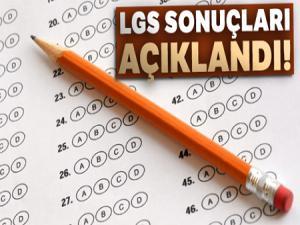 LGS sonuçları açıklandı!