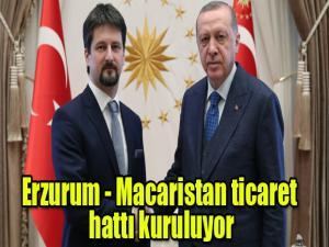 """Macaristan Ankara Büyükelçisi Viktor Matis, """"Türkiye-Macaristan Ekonomik İlişkileri ve İkili İşbirliği İmkânları"""" toplantısına katılmak üzere Erzurum'a geliyor."""