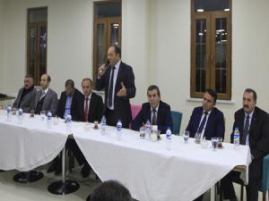 MHP Uzundere'de istişare toplantısı yaptı