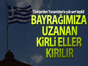 MSB'den Yunanistan'a kınama