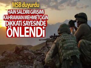 MSB: 'Terör örgütü PKK'nın bomba yüklü 2 maket uçağı düşürüldü'