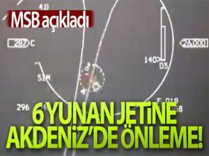 MSB: 'YUNANİSTAN'A AİT 6 ADET F-16 UÇAĞINA ÖNLEME YAPILDI'