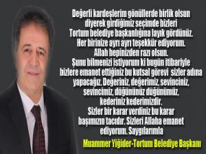 Muammer Yiğider BBP'den Tortum Belediye Başkanı seçildi