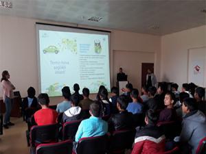 Mülteci çocuklara yönelik 'Sıfır Atık Projesi' semineri düzenlendi