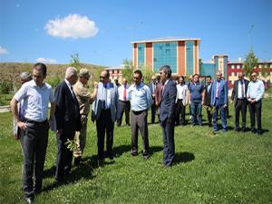 Oltu'da 15 Temmuz şehitleri anısına 251 ağaç diktiler