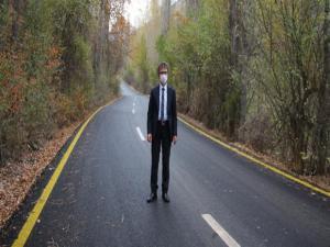 Olur İlçesine bağlı 10 mahalle yolu asfalt oldu