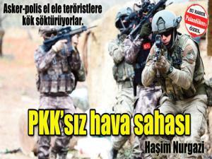 PKK'sız hava sahası