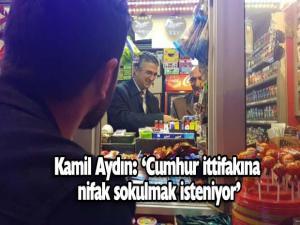 Prof. Dr. Kamil Aydın, gündemi değerlendirdi