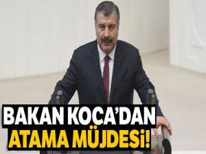 Sağlık Bakanı Koca: '28 Şubat'ta 1480 kişinin ataması yapılacak'