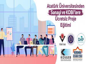 Sanayi ve Kobi'lere Ücretsiz Proje Eğitimi