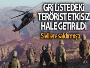 Sivillere saldıran Gri Liste'deki terörist etkisiz hale getirildi