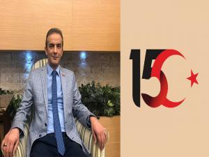"""Tabip Odası Başkanı Dr. Kacıroğlu: """"15 Temmuz bir milletin topyekün ayağa kalktığı kıyam günüdür"""""""