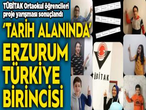 """""""Tarih alanında"""" Erzurum Türkiye birincisi"""