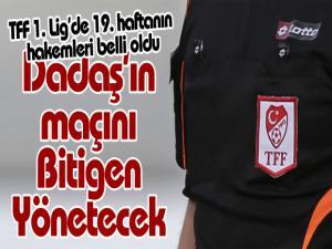 TFF 1. Lig'de 19. haftanın hakemleri belli oldu