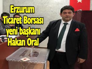 Ticaret Borsası'nın yeni başkanı Hakan Oral...