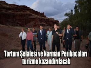 Tortum Şelalesi ve Narman Peribacaları turizme kazandırılacak