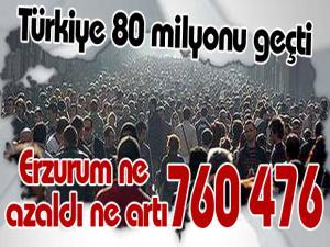 TÜİK açıkladı: Türkiye nüfusu rekor kırdı