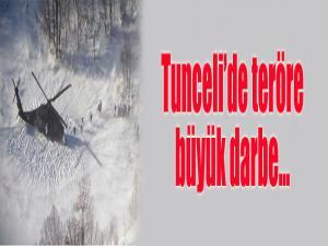 Tunceli'de teröre büyük darbe