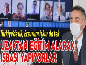 Türkiye'de ilk, Erzurum işkur da tek