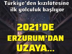 Türkiye Uzay Ajansı açıkladı: Doğu Anadolu Uzay Gözlemevi gelecek yıl açılacak