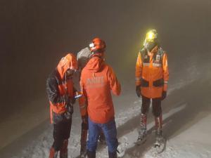 Uludağ'da 2 dağcı tipi ve fırtına sebebiyle kayboldu