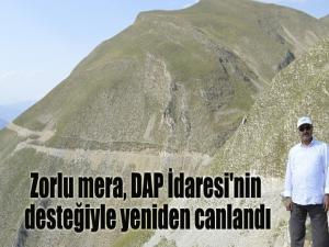 Zorlu mera, DAP İdaresi'nin desteğiyle yeniden canlandı