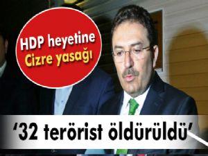 Selami Altınok: '32 terörist öldürüldü'