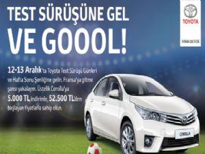 Erzurum Toyota Plaza İkbal Test Sürüşü'ne Katılın, Fransa Seyahati Kazanın