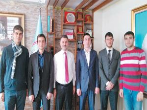 Gençlik Meclisi, İl Milli Eğitim Müdürü'nü ziyaret etti