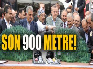 Ovit Tüneli'nde son 900 metre...