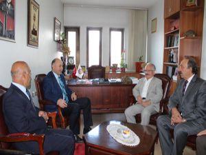 Vali Azizoğlu ERVAK'ı ziyaret etti