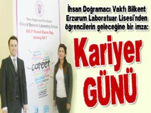 Bilkent Erzurum Laboratuar Lisesi'nden öğrencilerin geleceğine bir imza: Kariyer GÜNÜ