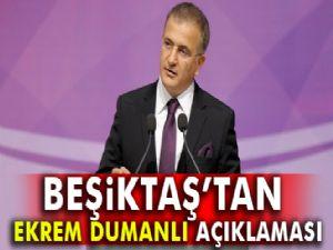 Beşiktaş'tan Ekrem Dumanlı açıklaması