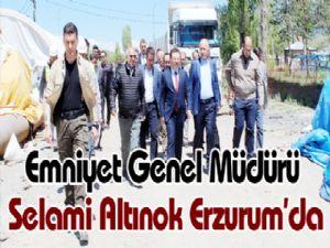 Emniyet Genel Müdürü Selami Altınok Erzurum'da