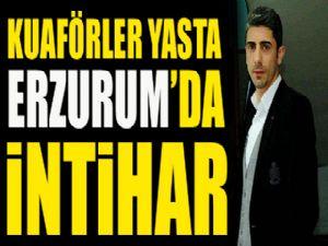 Erzurum'da bir kişi silahla kendini vurarak intihar etti