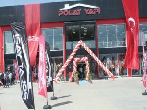POLAT YAPI seramik ve banyo mağazası açıldı
