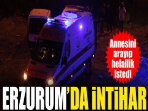 Erzurum'da intihar... 8. Kattan atlayarak hayatına son verdi