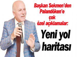 Başkan Mehmet Sekmen'den Palandöken'e çok özel açıklamalar: Yeni yol haritası