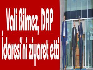 Vali Bilmez, DAP İdaresi'ni ziyaret etti